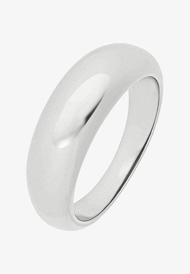 CHUBBY PLAIN - Ring - silber