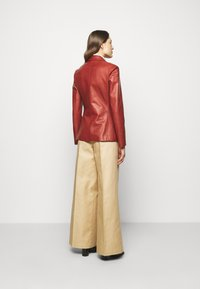 Bally - Leather jacket - spice - 2