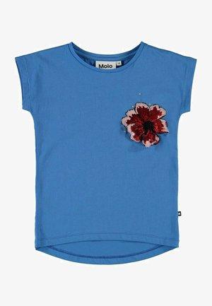RAGNHILDE - Print T-shirt - french blue