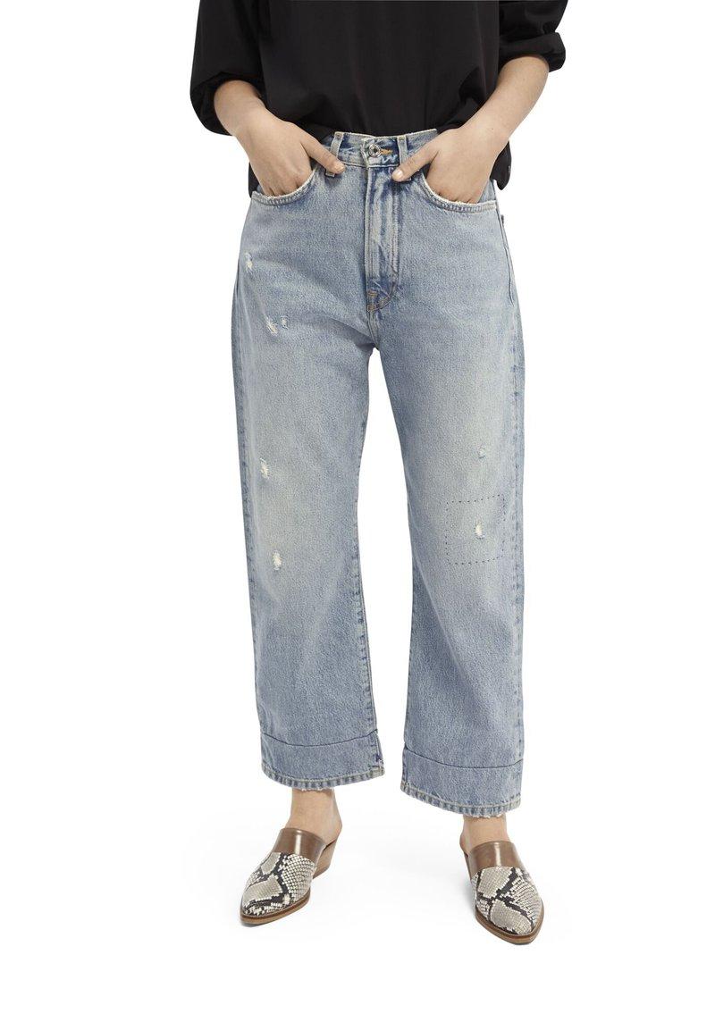 Scotch & Soda - EXTRA BOYFRIEND   - Straight leg jeans - sea romance