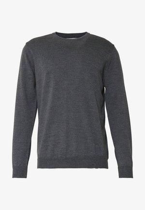 CENTRAL - Svetr - grey melange