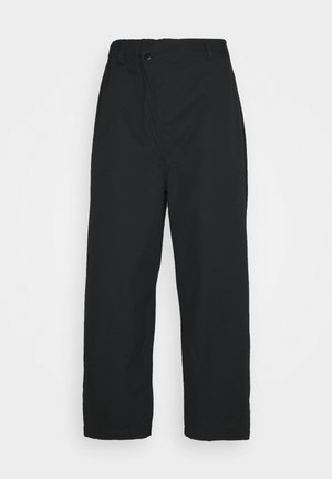 SHAPES TRIANGLE FRONT UNISEX - Trousers - black