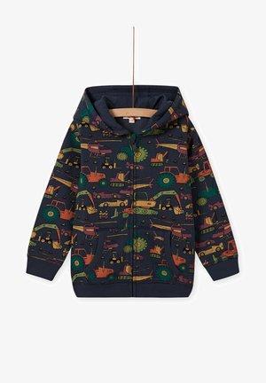 Zip-up sweatshirt - navy blue