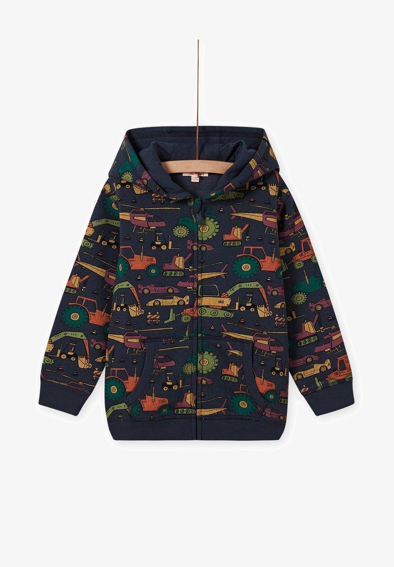 Du Pareil au Même - Zip-up sweatshirt - navy blue
