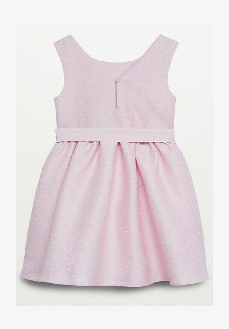 Mango - Jersey dress - rose clair