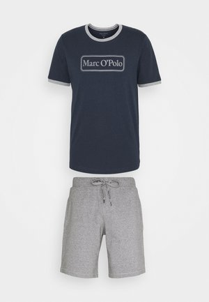 LOUNGESET CREW NECK - Pyjamas - blue