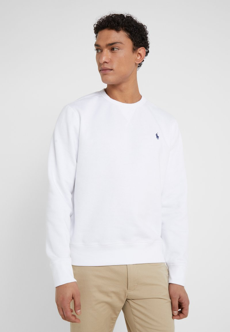Polo Ralph Lauren - LONG SLEEVE - Mikina - white