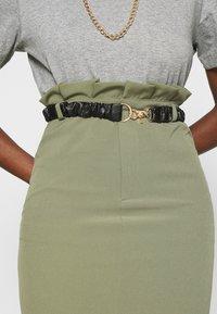 4th & Reckless - LORENA SKIRT - Pencil skirt - khaki - 4
