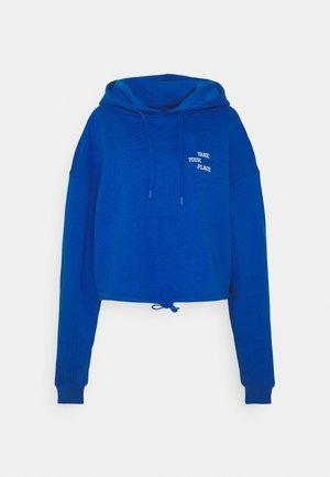 MONROE HOODIE LOGO - Sweatshirt - blue