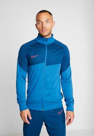 Training jacket - industrial blue/laser crimson