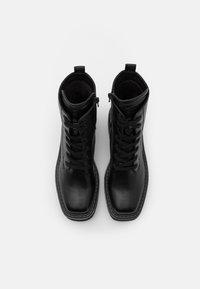 Buffalo - QUANDA - Lace-up ankle boots - black - 4