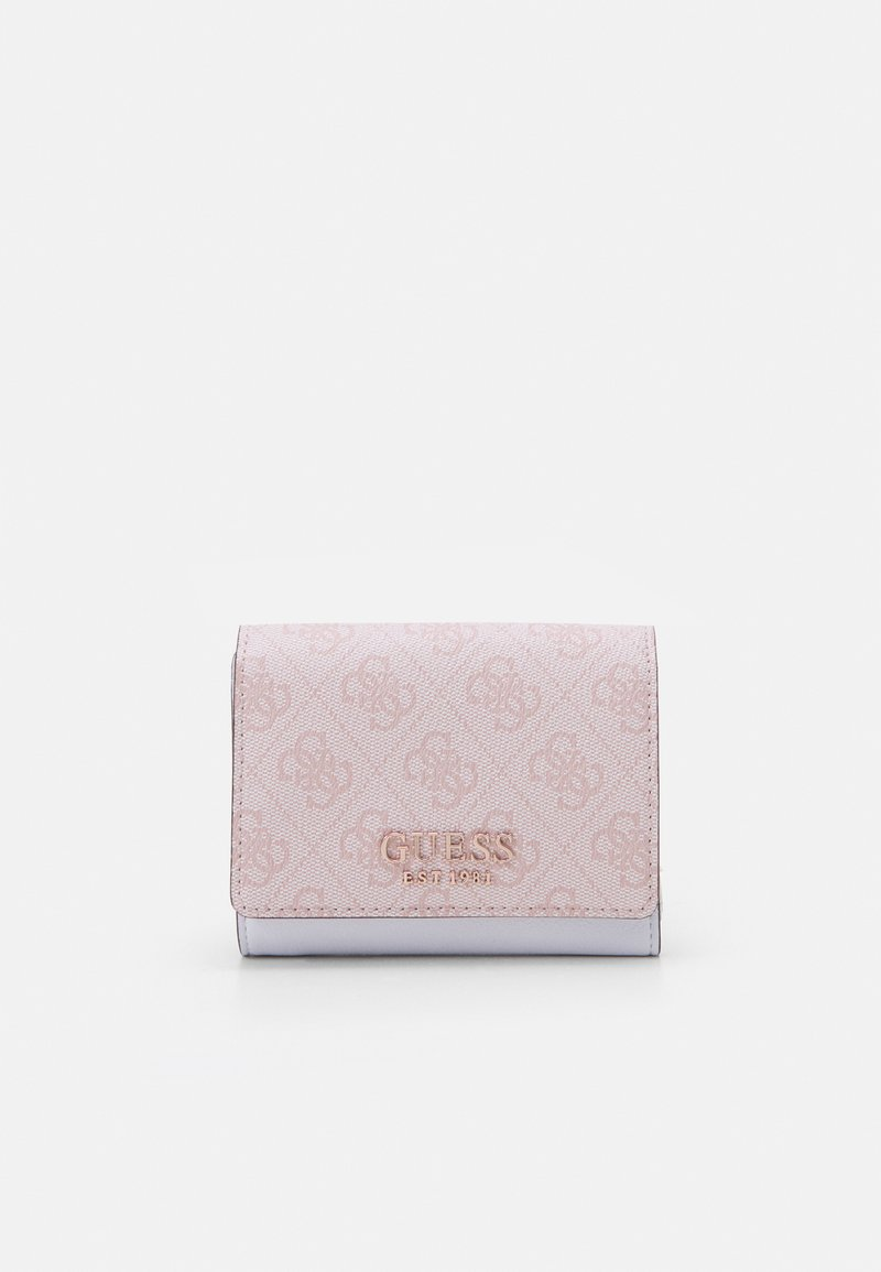 Guess - MIKA SMALL TRIFOLD - Lommebok - blush