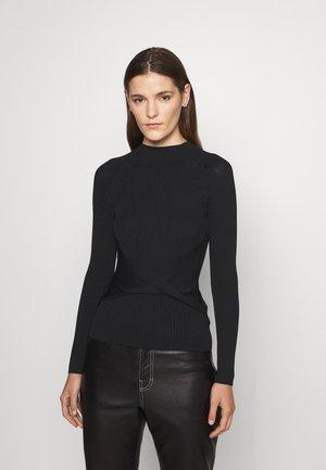 SHADETTA - Long sleeved top - black