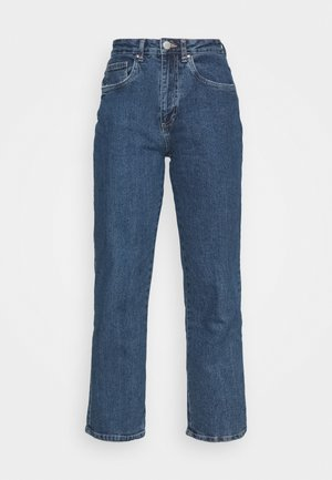 Jeans straight leg - coogee blue