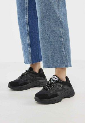 GALAXY - Sneakers - black black