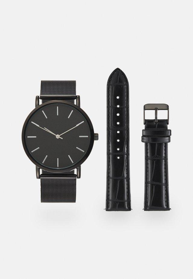 UNISEX SET - Watch - black