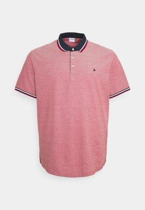 JJEPAULOS - Polo shirt - rio red