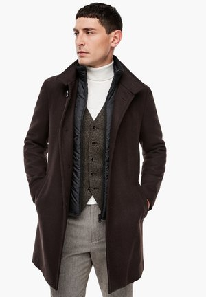 SLIM FIT - Classic coat - brown