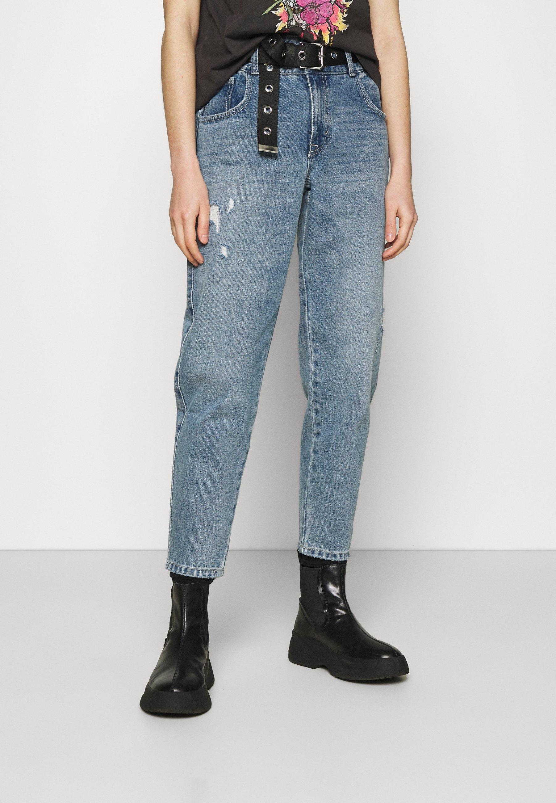 Women ONLLU LIFE CARROT - Straight leg jeans