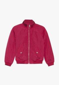 Calvin Klein Jeans - LOGO JACKET - Light jacket - pink - 0