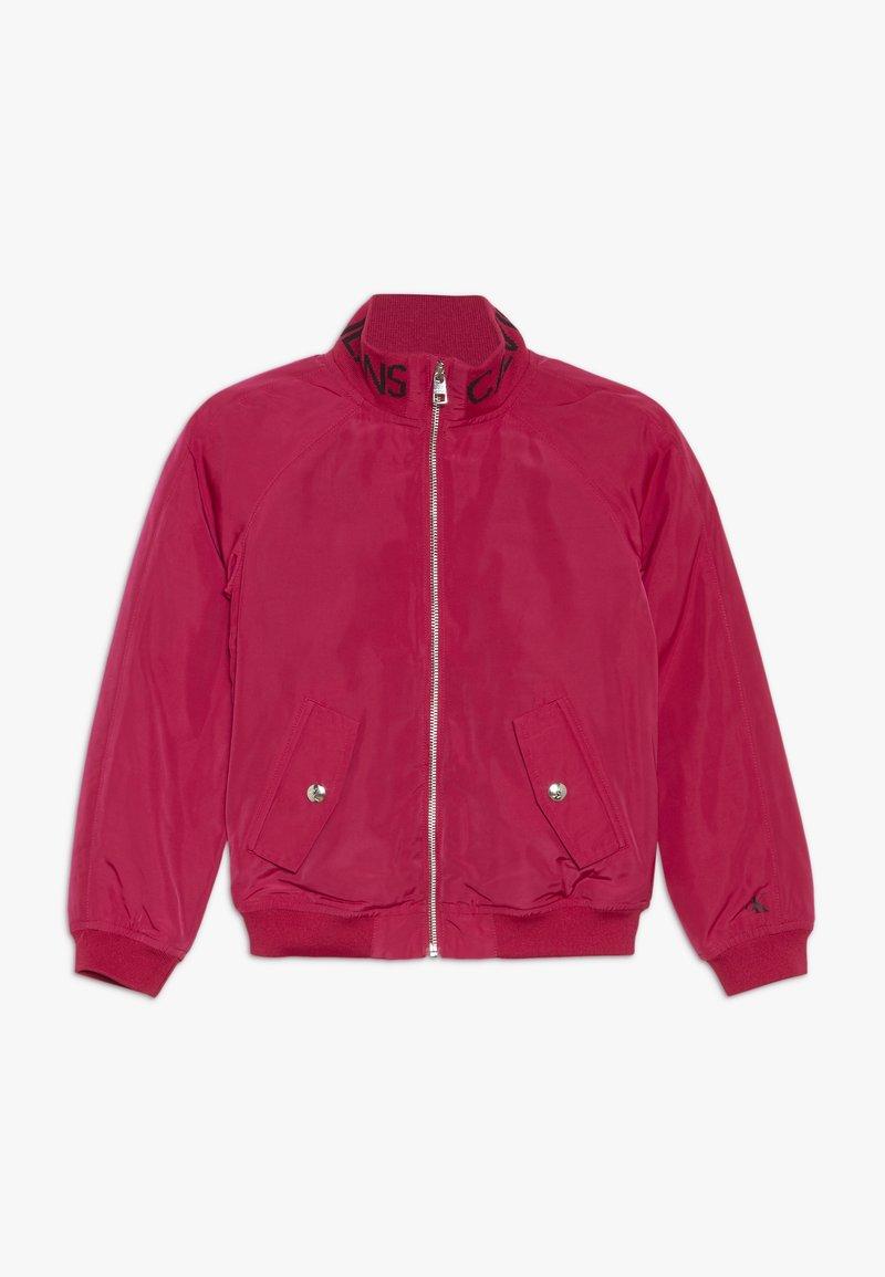 Calvin Klein Jeans - LOGO JACKET - Light jacket - pink