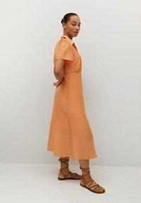 Violeta by Mango - Skjortklänning - orange - 2