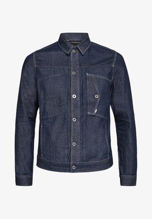 SCUTAR SLIM - Denim jacket - rinsed