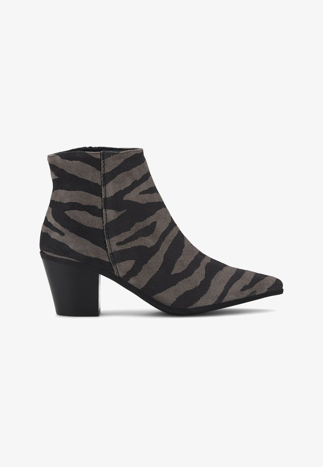 TREND - Classic ankle boots - beige