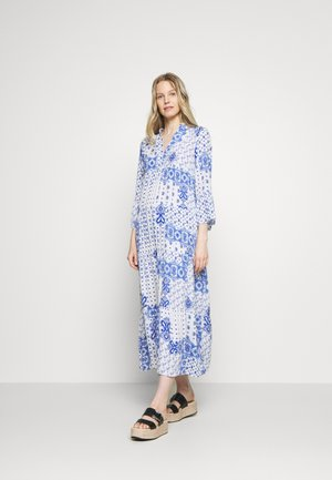 DRESS - Maxikjoler - white/blue