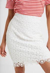 Anna Field Petite - Pencil skirt - white - 3