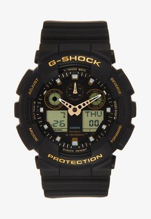 Digital watch - schwarz/gold-coloured