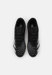 adidas Performance - PREDATOR FREAK .4 IN SALA - Indendørs fodboldstøvler - core black/footwear white - 3