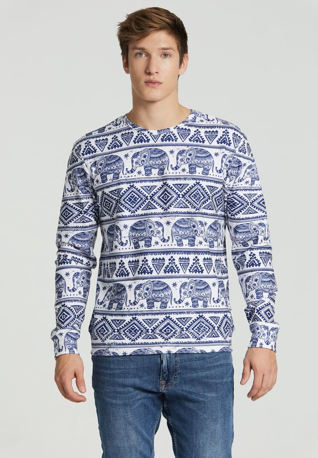 ELEPHANTS - Sweater - white