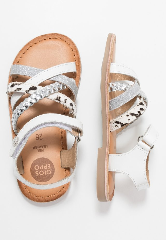 SOLAPUR - Sandals - white
