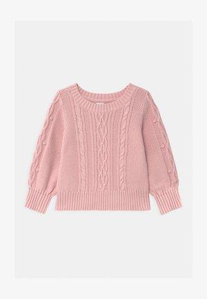 TODDLER GIRL CREW - Svetr - pure pink