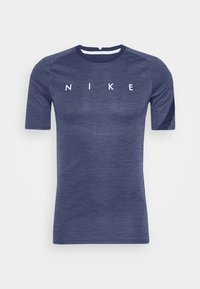 Nike Performance - DRY ACADEMY TOP - Print T-shirt - blue void/white - 3