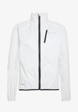 DROP JACKET - Giacca hard shell - white