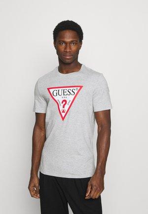 ORIGINAL LOGO - T-shirts med print - stone heather grey