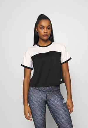 VELOCITY - Camiseta de deporte - black/white