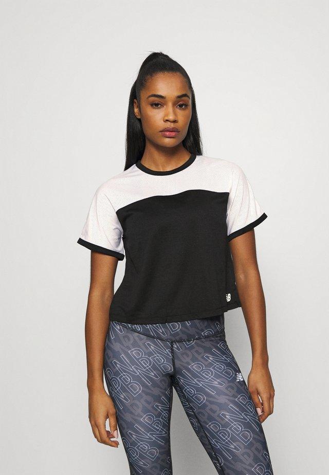 VELOCITY - Funkční triko - black/white