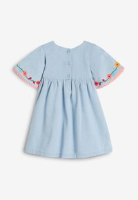 Next - Day dress - blue denim - 3