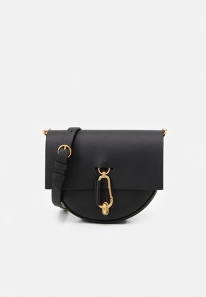 BELAY MINI SADDLE CROSSBODY - Taška s příčným popruhem - black