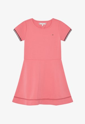 ESSENTIAL SKATER - Jersey dress - pink