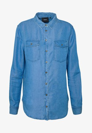 OBJLANIE SHIRT NOOS - Košile - medium blue denim