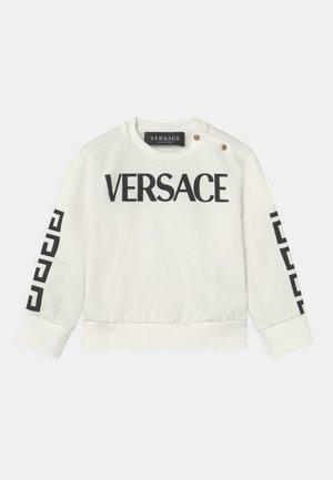 LOGO GRECA UNISEX - Sweater - bianco/nero
