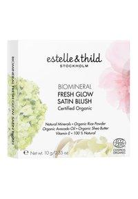 Estelle & Thild - BIOMINERAL FRESH GLOW SATIN BLUSH 10G - Blusher - soft pink - 1