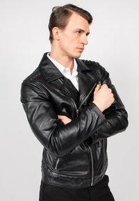Freaky Nation - BLACK SELECT - Leather jacket - black - 3