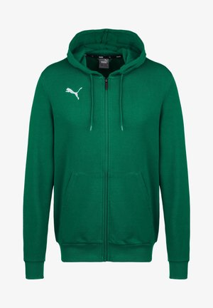 TEAMGOAL 23 CASUALS TRAININGSJACKE HERREN - Zip-up hoodie - pepper green