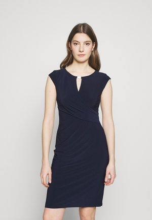 MID WEIGHT DRESS - Fodralklänning - lighthouse navy
