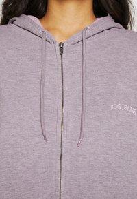 BDG Urban Outfitters - ZIP HOODIE - Zip-up hoodie - grey lavendar - 4